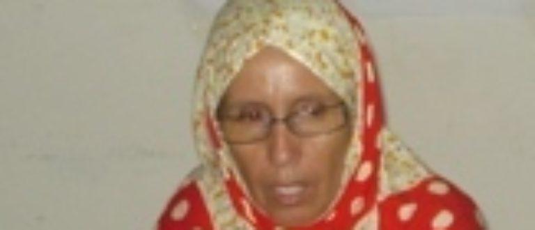 Article : La mauritanienne Aminetou Mint Moctar ménacée de mort
