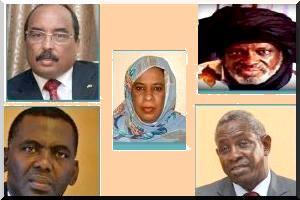 Candidats présidentielle mauritanienne du 21 juin/ Crédit photo