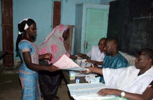 vote en mauritanie