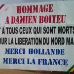 Crise nord Mali Hommage/Crédit photo