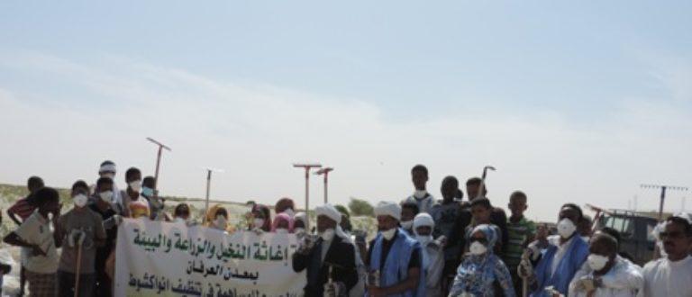 Article : Nouakchott reçois des coups de balaie