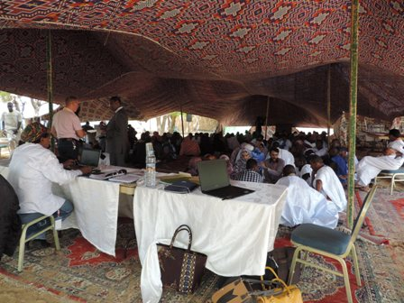 Mauritanie, débat planétaire /crédit photo Awa Seydou