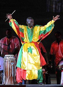 Doudou N'diaye Rose en 2014/crédit photo wikipédia