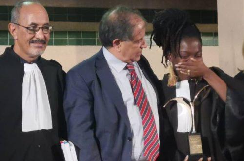Article : Me Josette ATADE TOPANOU, remporte le 7e concours international de plaidoiries pour les droits de l'homme