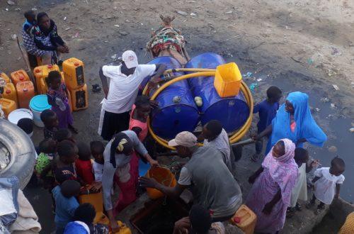 Article : Nouakchott: pénurie d'eau potable, la soif des populations