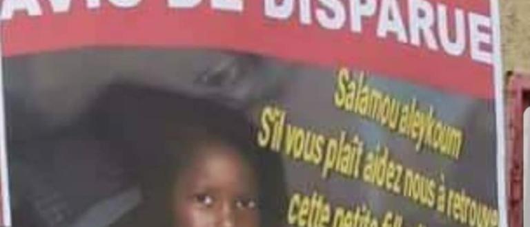 Article : Mauritanie : mobilisation autour de la disparition d'une fillette de 9 ans