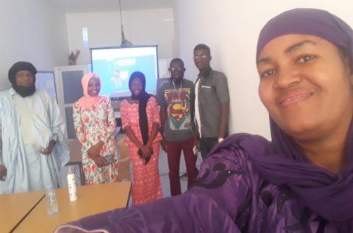 Article : Le concours mondoblog 2021 expliqué aux jeunes en Mauritanie