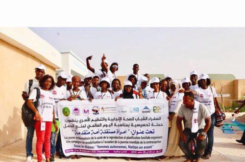 Article : Mauritanie : droit à l'information des jeunes dans la santé reproductive,